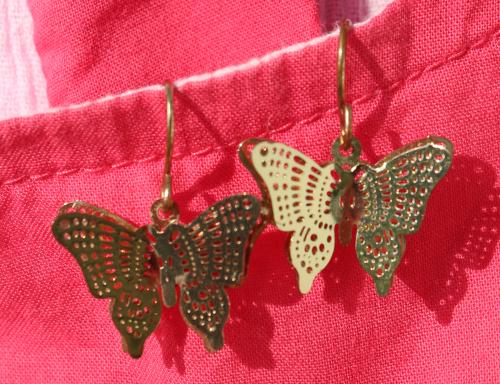 Ohrringe Schmetterlinge