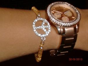 Fossil Uhr mit Armband